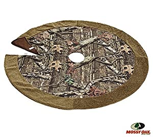 Mossy Oak Camouflage Christmas Tree Skirt For