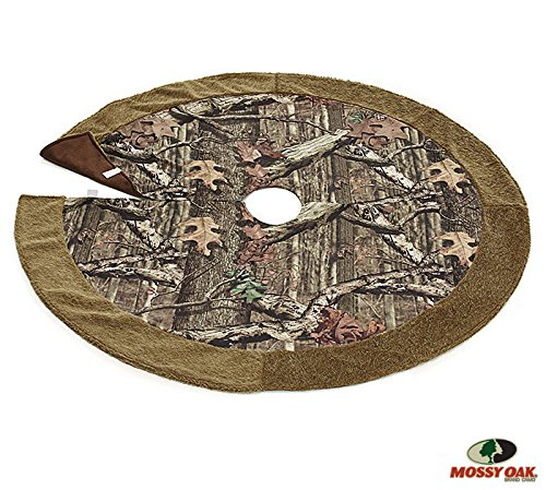 Mossy Oak Camouflage Christmas Tree Skirt For Holiday Home