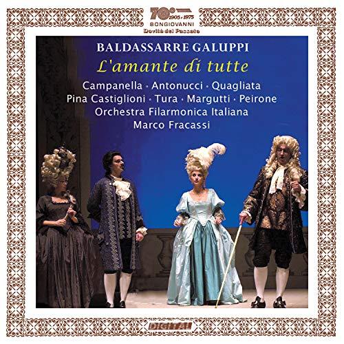 CD : GALUPPI / CAMPANELLA / FRAC - L'amante Di Tutte