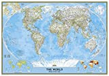 echange, troc National Geographic Maps - World Pol Class Plas 178x125 : Poster