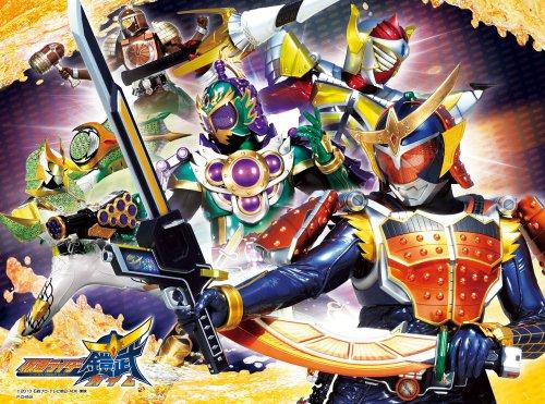 やわらかパズル&ブロック 仮面ライダー鎧武 38ピース たたかえ!仮面ライダー鎧武 EVA-002