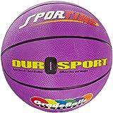 School Smart Gradeballs Rubber Basketball - Junior 27 inch - Violet