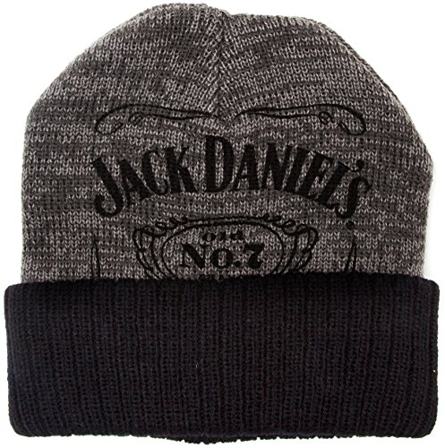 for-collectors-only - Cuffia Jack Daniels in maglia, motivo: Old No.7, con logo originale