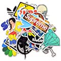 Sedeta 100 Stickers Skateboard Snowboard Vintage Vinyl Sticker Graffiti Laptop Luggage Car Bike Bicycle Decals mix Lot Fashion Cool