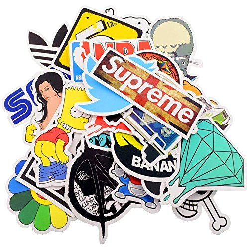 Fancyshop-60pcs-Car-Motorcycle-Bicycle-Skateboard-Laptop-Luggage-Vinyl-Sticker-Graffiti-Laptop-Luggage-Decals-Bumper-Stickers-60-Pieces