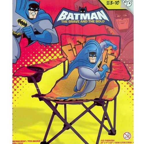 Batman Kids Folding Camp Chair