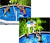 Swimline Pool Jam Above-Ground Swimming Pool Basketball and Volleyball Combo