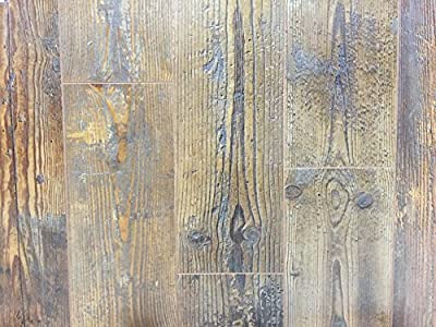 12mm Wood Laminate Flooring - Distressed Chestnut