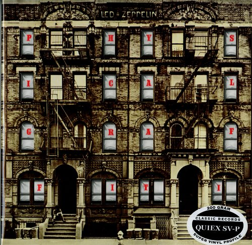 Led Zeppelin - Physical Graffiti - 200G Quiex Sv-P Vinyl Lp - Classic Records Reissue