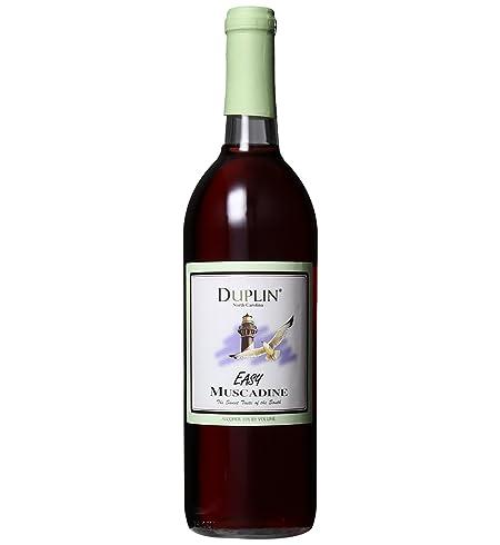 NV Duplin Wine Cellars Easy North Carolina Muscadine 750 mL at Amazon