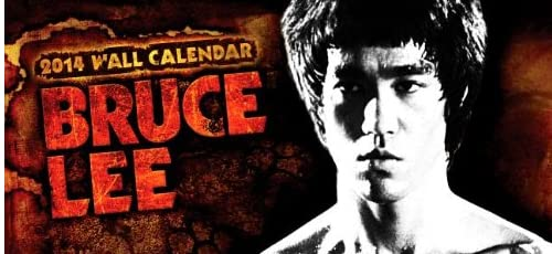 Bruce Lee 2014 Calendar