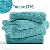 """Abyss & Habidecor Super Pile Absorbent Bath Towel - Turquoise 370 (28"""" x 54"""")"""