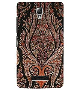 PrintDhaba Pattern D-2065 Back Case Cover for LENOVO A2010 (Multi-Coloured)