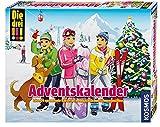 Kosmos 631185 - Die drei !!! Adventskalender 2016 - Löse 24 spannende Rätsel im weihnachtlichen Schneegestöber