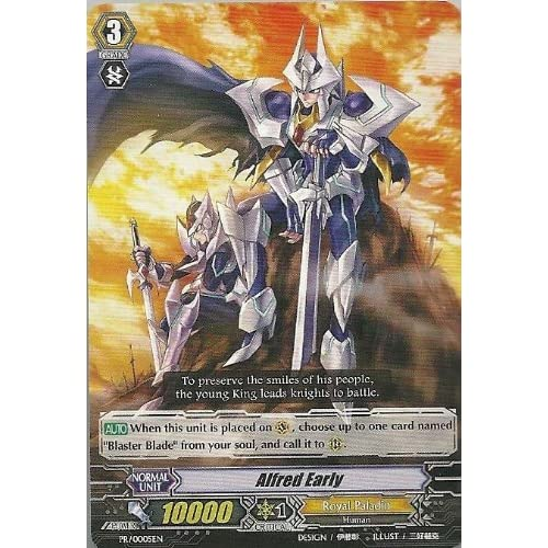 Cardfight!! Vanguard 1x Alfred Early PR/0005EN English Royal Paladin