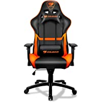 Cougar Armor Gaming Chair (Black and Orange) + Cougar 450M 8 Buttons Gaming Mouse (Black)