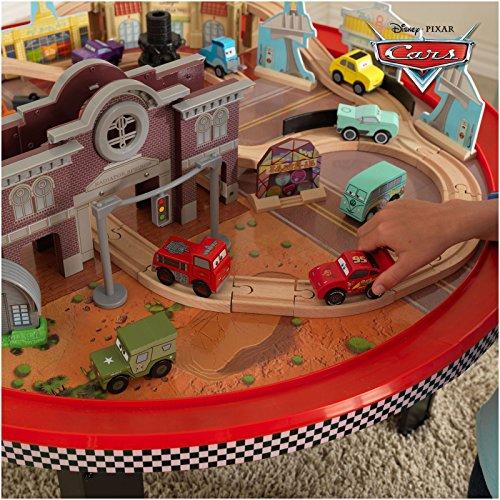 Kidcraft Train Table KidKraft Disney CARS Cadillac Range Train Set and Table ...