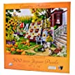 Country Autumn 500pc Jigsaw Puzzle by Nancy Wernersbach