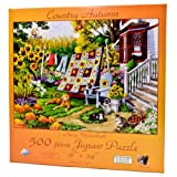 Country Autumn Jigsaw Puzzle by Nancy We...