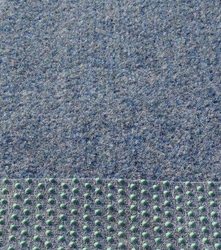 kunstrasen rasenteppich farbe blau grau in breite von 150 cm und 250 cm 300 x 150 cm. Black Bedroom Furniture Sets. Home Design Ideas