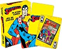 Aquarius DC Superman Retro Playing Cards