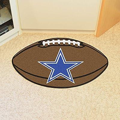 "Dallas Cowboys Football Rug 22""x35"""
