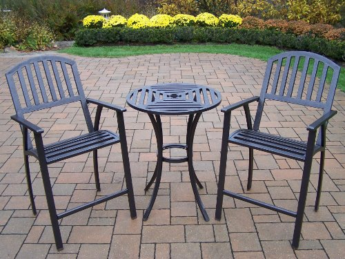 Oakland Living 3-Piece Rochester Bar Set