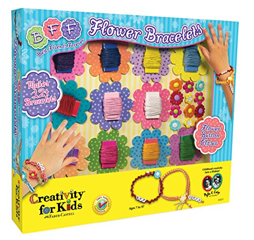 Creativity For Kids Kit Bff Flower Bracelets - 1