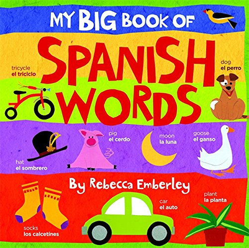 My Big Book of Spanish Words (Big Words For Little Kids compare prices)