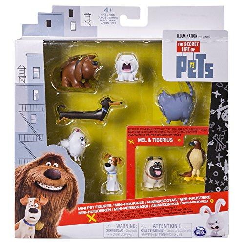 Secret Life of Pets Vita da Animali - Confezione 6 Mini Personaggi