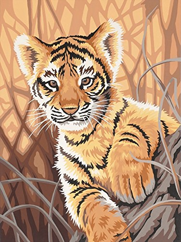 Dimensions Needlecrafts Paintworks Paint By Number, Tiger Cub