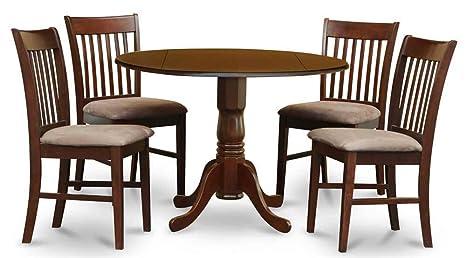 5-Pc Round Dinning Set