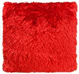 SQUARE RED SOFT CUSHION