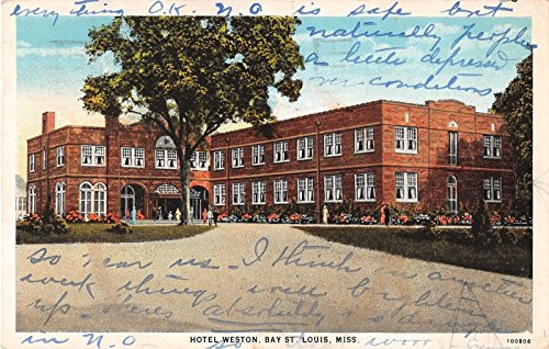 St Louis Missouri Hotel Weston Bay Antique Postcard J17195 (Weston Hotel compare prices)