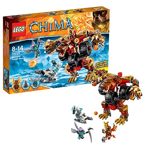 Lego Legends of Chima 70225 – Bladvics Grollbär jetzt bestellen