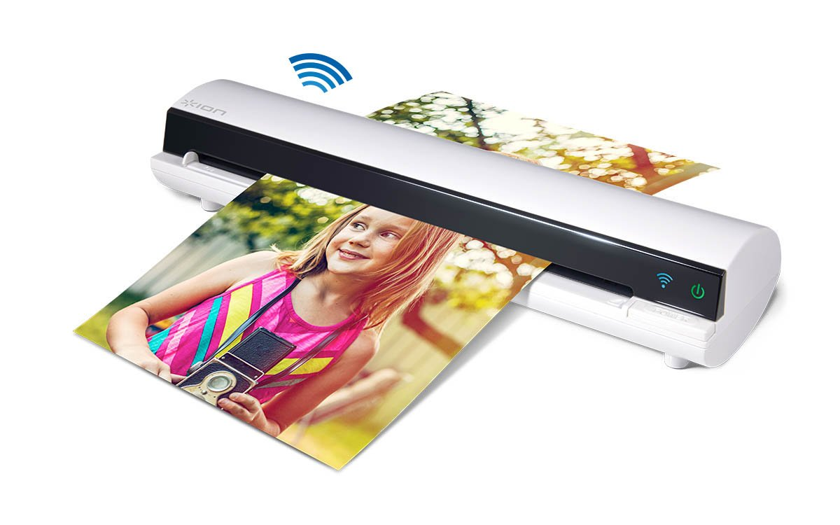 ION Air Copy Wireless Photo and Document Scanner with Built-In WiFi