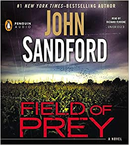 Field of Prey by John Sandford (2014, Hardcover) Lucas Davenport #24 Ex-Library