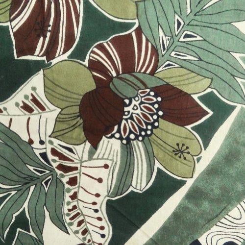 abstraktes Muster Baumwollstoff grüne Farbe apparal Nähen Handwerk Kissen Kissen Quilt indien von m.