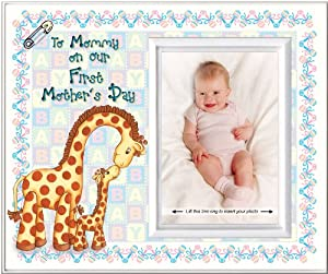 To Mommy on Our First Mother's Day - Picture Frame Gift from Expressly Yours!