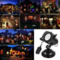 ARINO Holiday Light Projector Image Motion Projection Landscape Spotlight for Outdoor Indoor in Christmas Thanksgiving Birthday Wedding Party