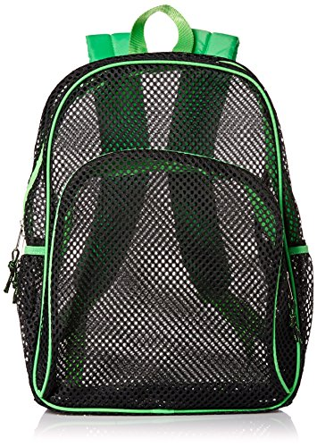 eastsport-mesh-backpack-black-green