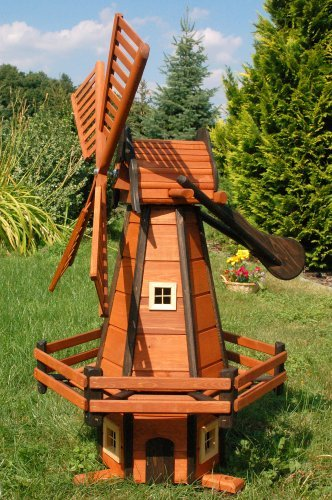Moulin En Bois Decoratif