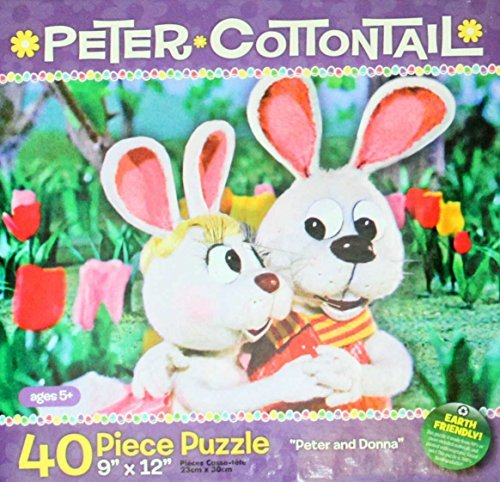 "Here Comes Peter Cottontail 40 Piece Puzzle - ""Peter and Donna"" - 1"