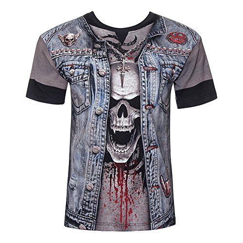 Spiral Thrash Metal T-Shirt multicolore M