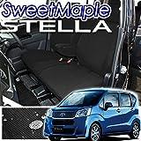 スバル ステラ LA150F/160F専用シートカバー 撥水布【ブラック】【新型ステラ】