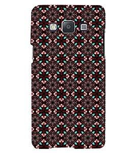 Printvisa Premium Back Cover Brown Diamond Pattern Design For Samsung Galaxy A7::Samsung Galaxy A7 A700F