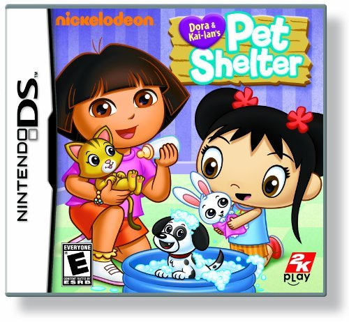 Dora And Kai-Lan'S Pet Shelter - Nintendo Ds front-492537