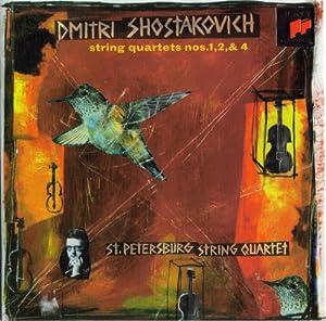 Shostakovich: String Quartets Nos. 1, 2 & 4