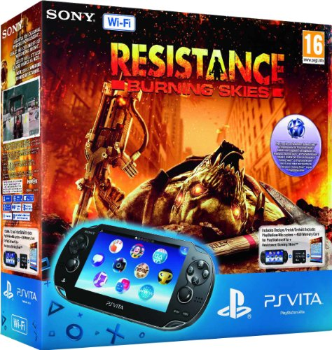 PlayStation Vita (PS Vita) – Console [Wi-Fi] con Resistance: Burning Skies (via…
