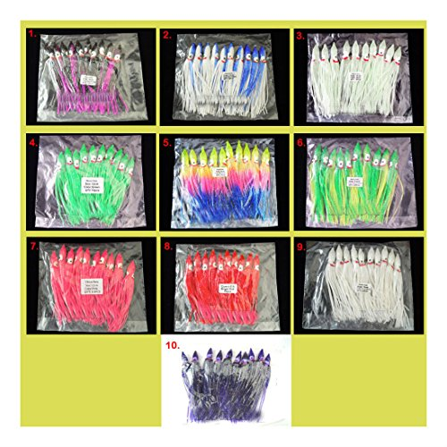 50pc-random-mix-color-45-hoochie-squid-skirt-octopus-saltwater-fishing-lure-top-rated